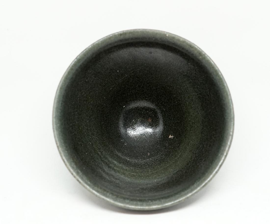 A Chinese Green Glazed Jian Tea Bowl - 3