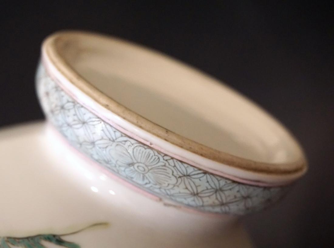 A Chinese Famille Rose Yongzheng-Style 'Ladies' Vase - 7