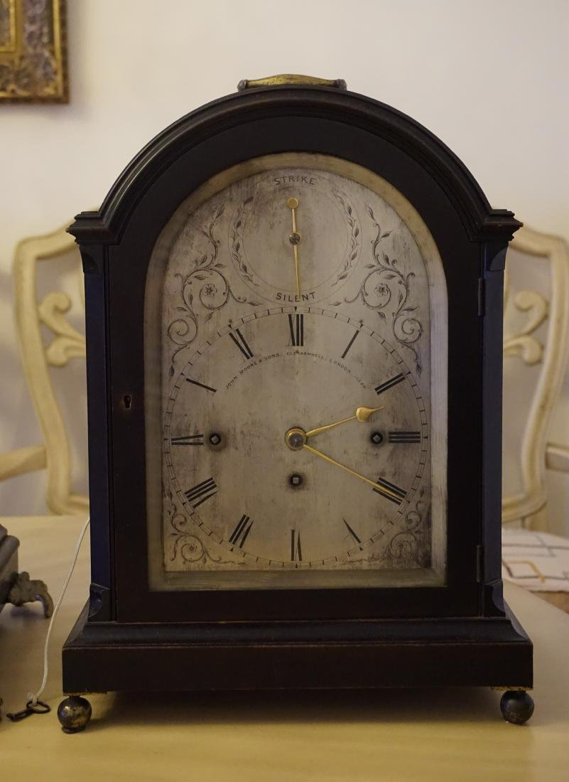 Masterpiece English Clock made by John Moore & Son with