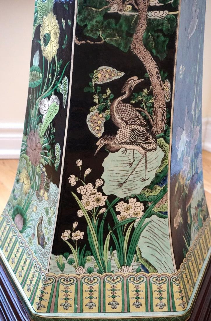 An Extremely Large, Museum Piece, Familie Verte Vase - 3