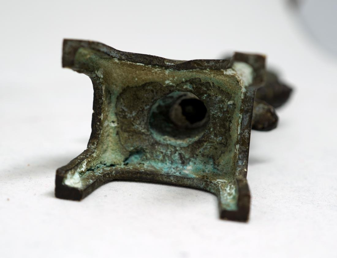 A Tang Bronze Figure of Bodhisattva - 6