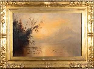 Henry Arthur Elkins Oil, Yosemite