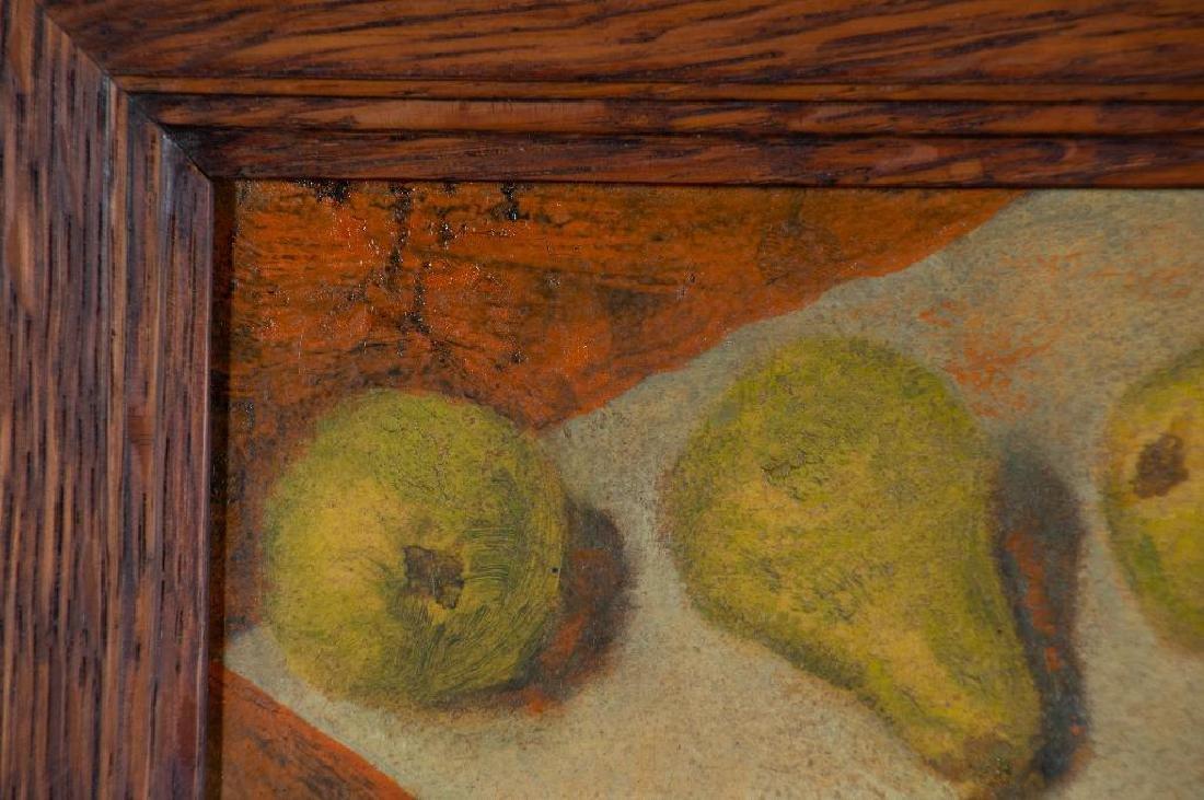 Paula Algminowicz Oil, Still Life of Five Pears - 2