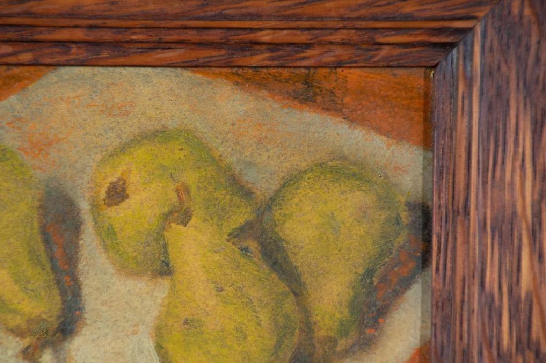 Paula Algminowicz Oil, Still Life of Five Pears - 3