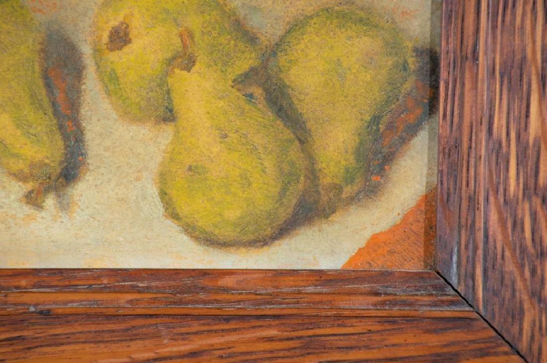 Paula Algminowicz Oil, Still Life of Five Pears - 4