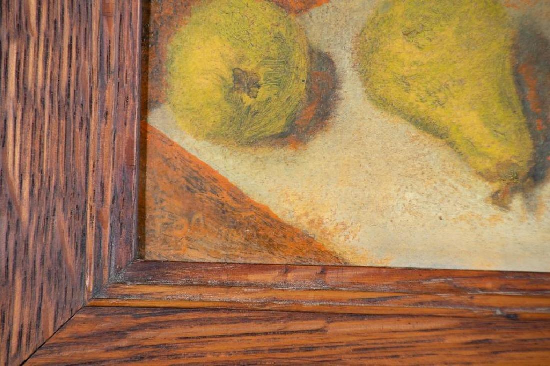 Paula Algminowicz Oil, Still Life of Five Pears - 5