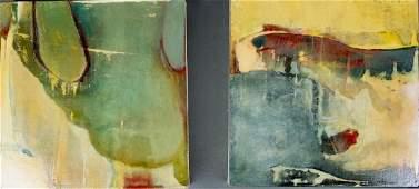 Pair of Oil paintings by Paul Lorenz