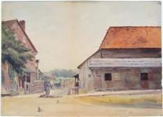 Ora Coltman Watercolor