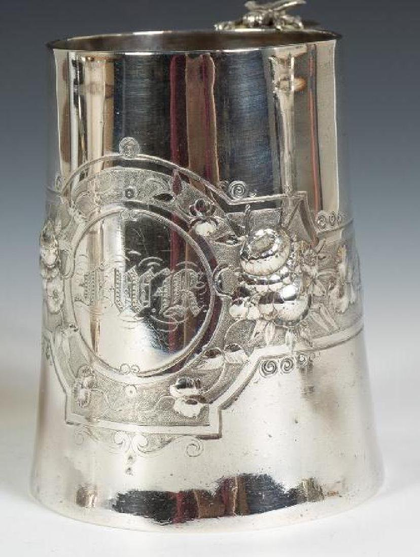 Three Sterling Silver Mugs - 3