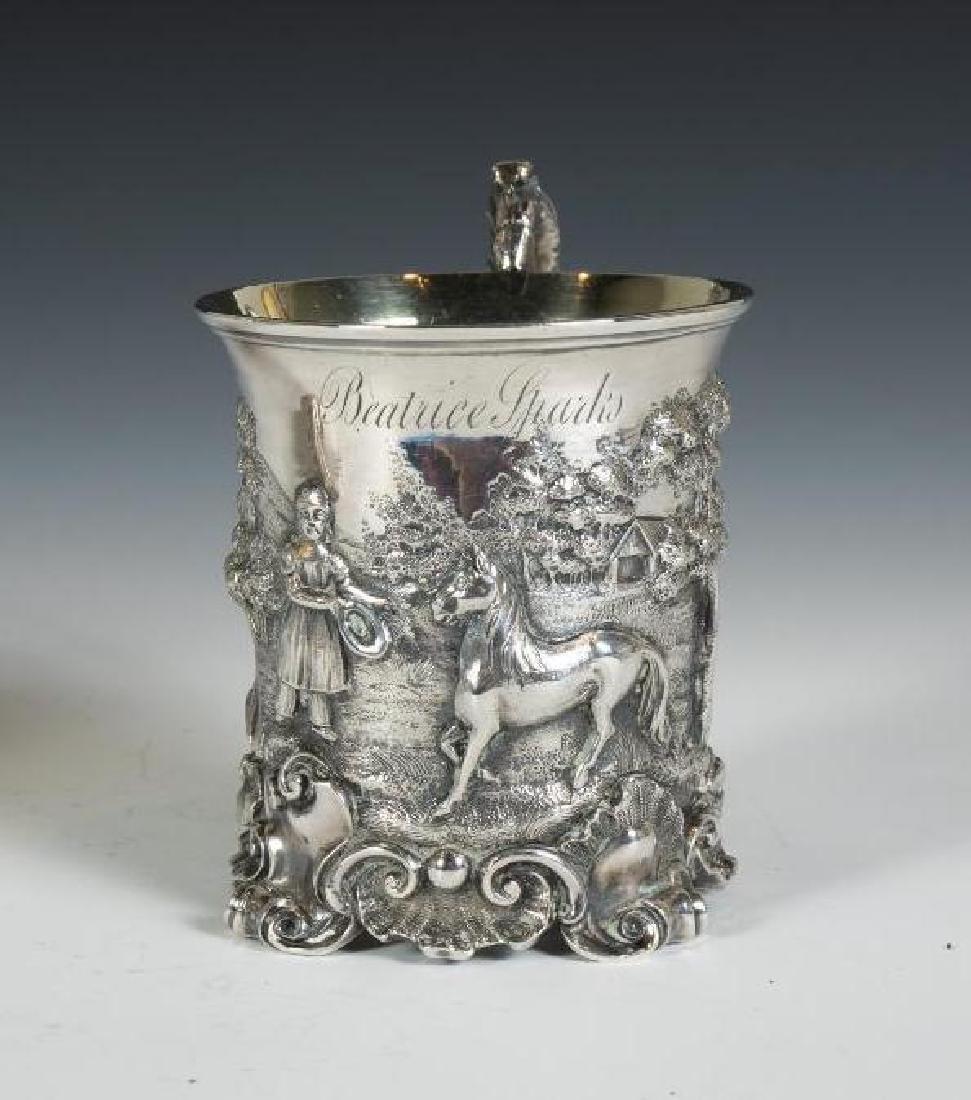 Three Sterling Silver Mugs - 4