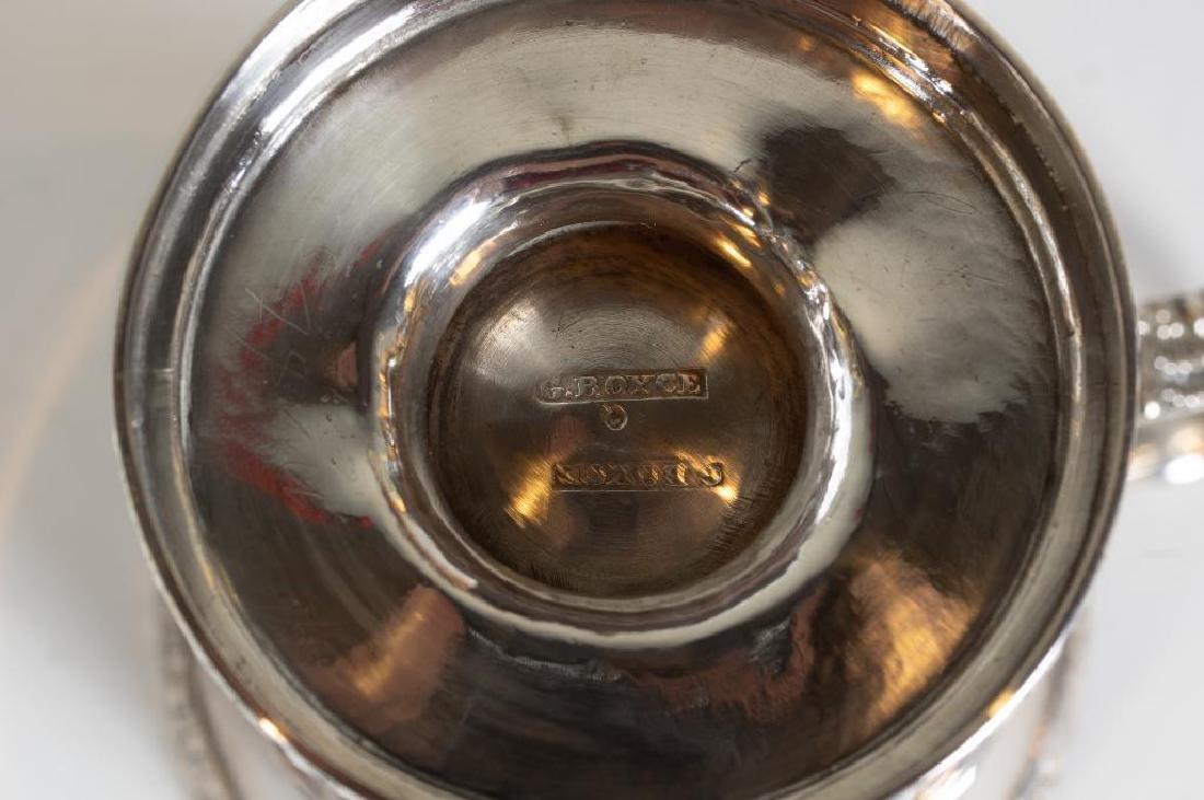 Three Sterling Silver Mugs - 8