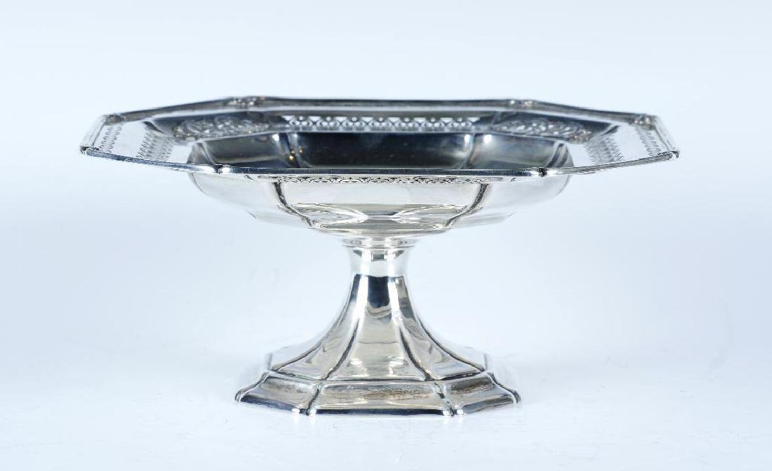 Reed and Barton Sterling Silver Footed Dish