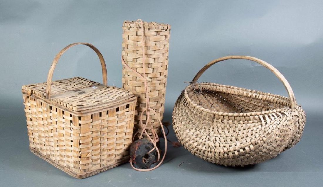 Lot of Three Baskets