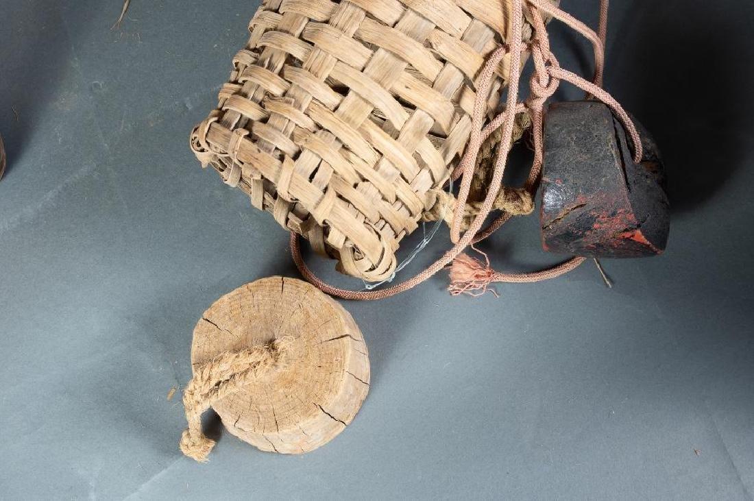 Lot of Three Baskets - 4
