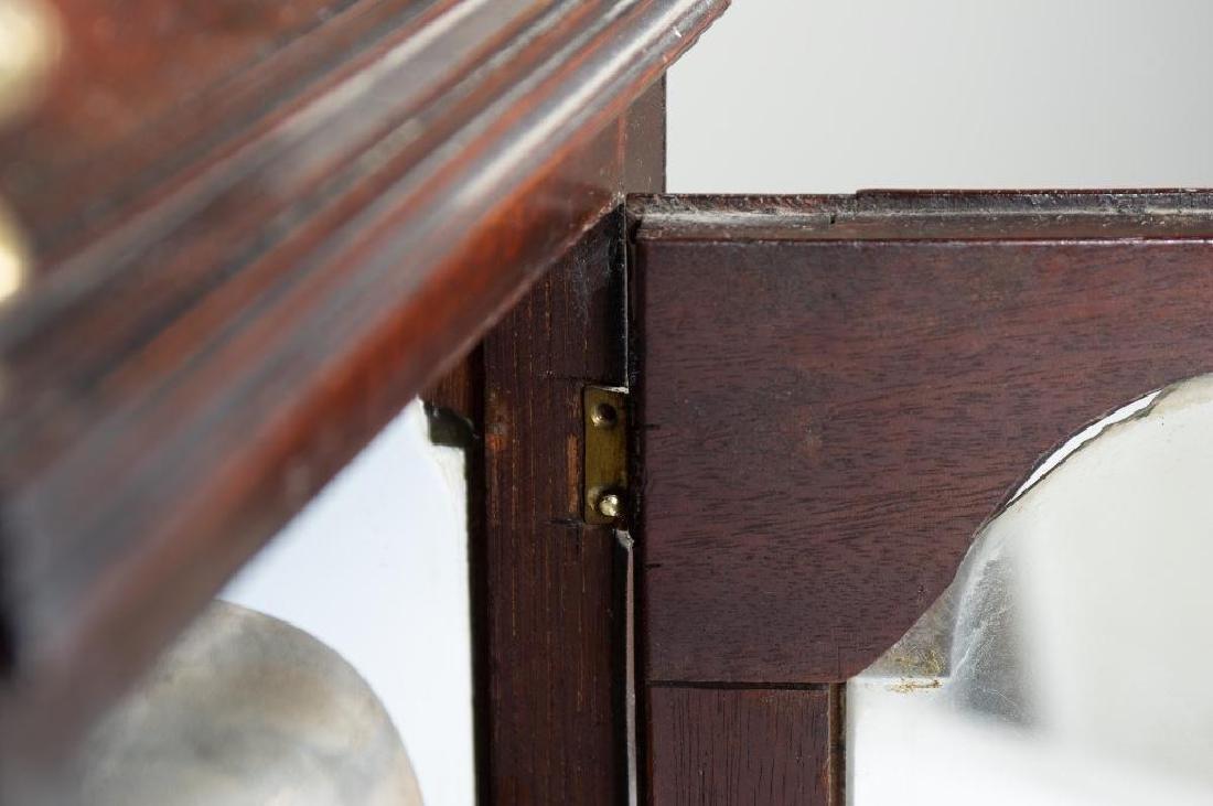 Mahogany English bracket clock made by John Brockbank - 7