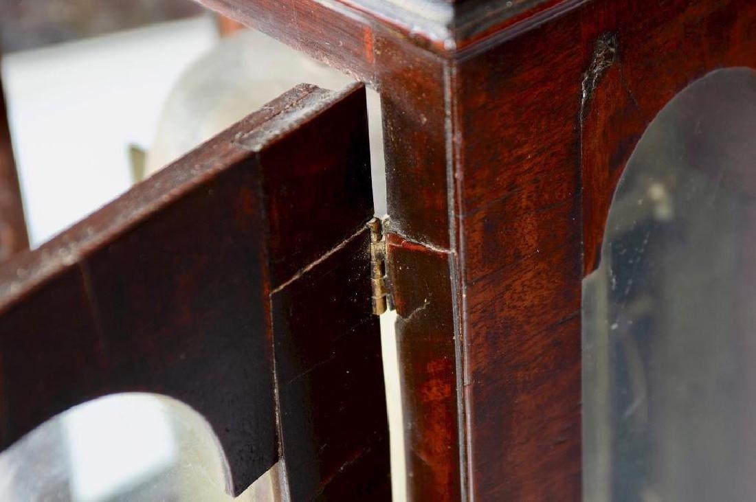 Mahogany English bracket clock made by John Brockbank - 8