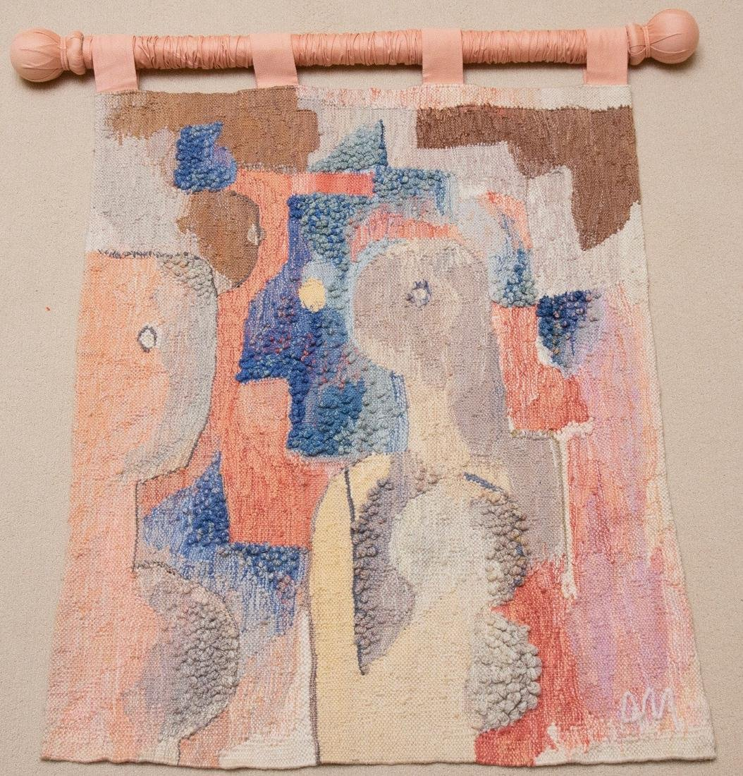 Hand Woven Wool Tapestry by A.Mierzejewski