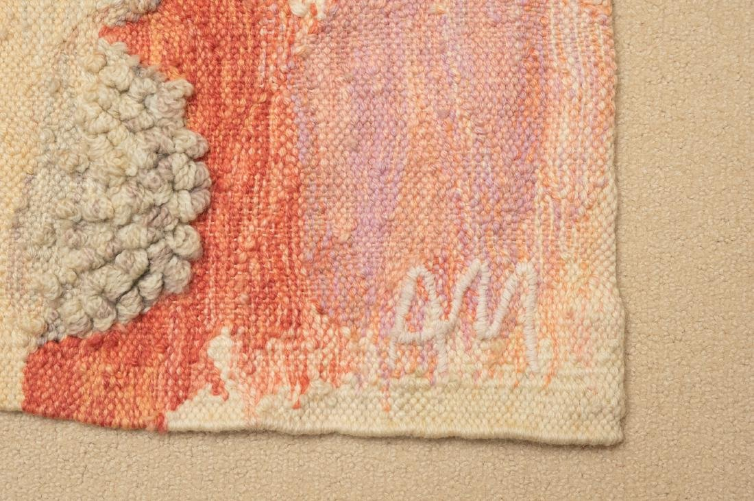 Hand Woven Wool Tapestry by A.Mierzejewski - 3