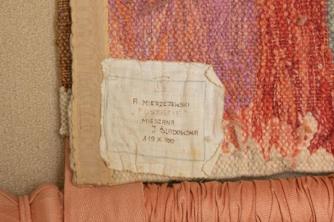 Hand Woven Wool Tapestry by A.Mierzejewski - 7