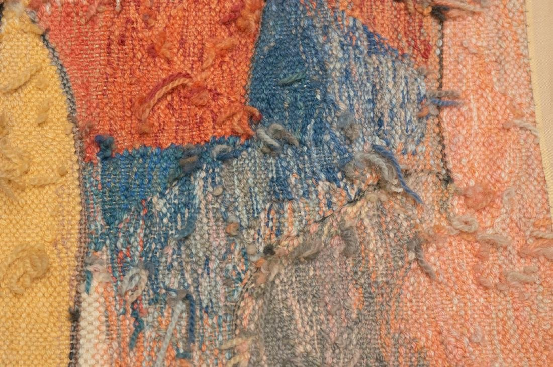 Hand Woven Wool Tapestry by A.Mierzejewski - 8
