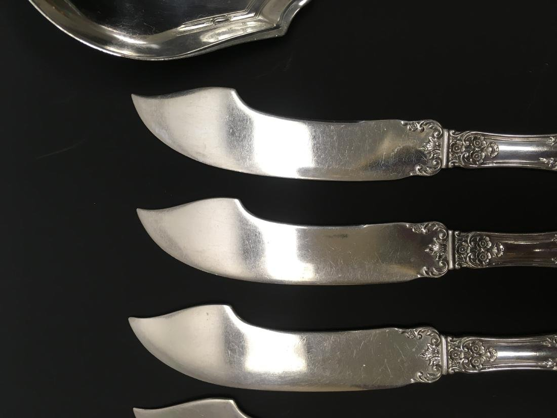 Lot of Knives, Spoon, Fork - 6