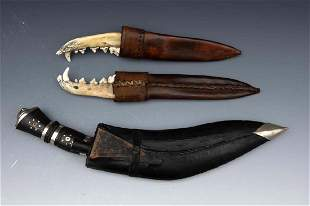 Three Sheathed Gives, Two of Jaw Bone