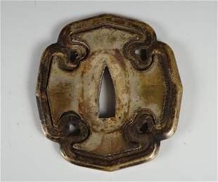 Momoyama Period Tsuba, ca. 1600