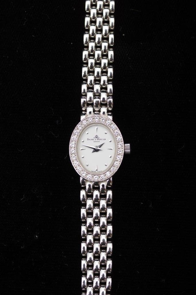 Ladies Baume & Mercier Gold & Diamond Watch