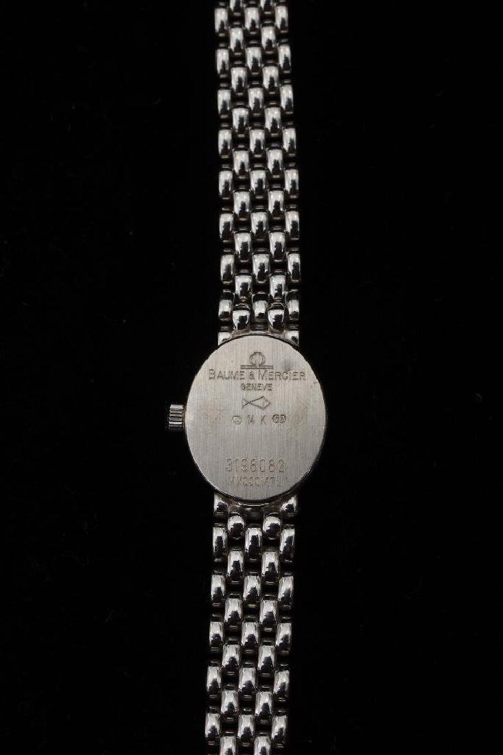 Ladies Baume & Mercier Gold & Diamond Watch - 6