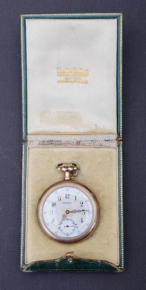 Imperial Udall and Ballon Open Case Gold Plated Pocket