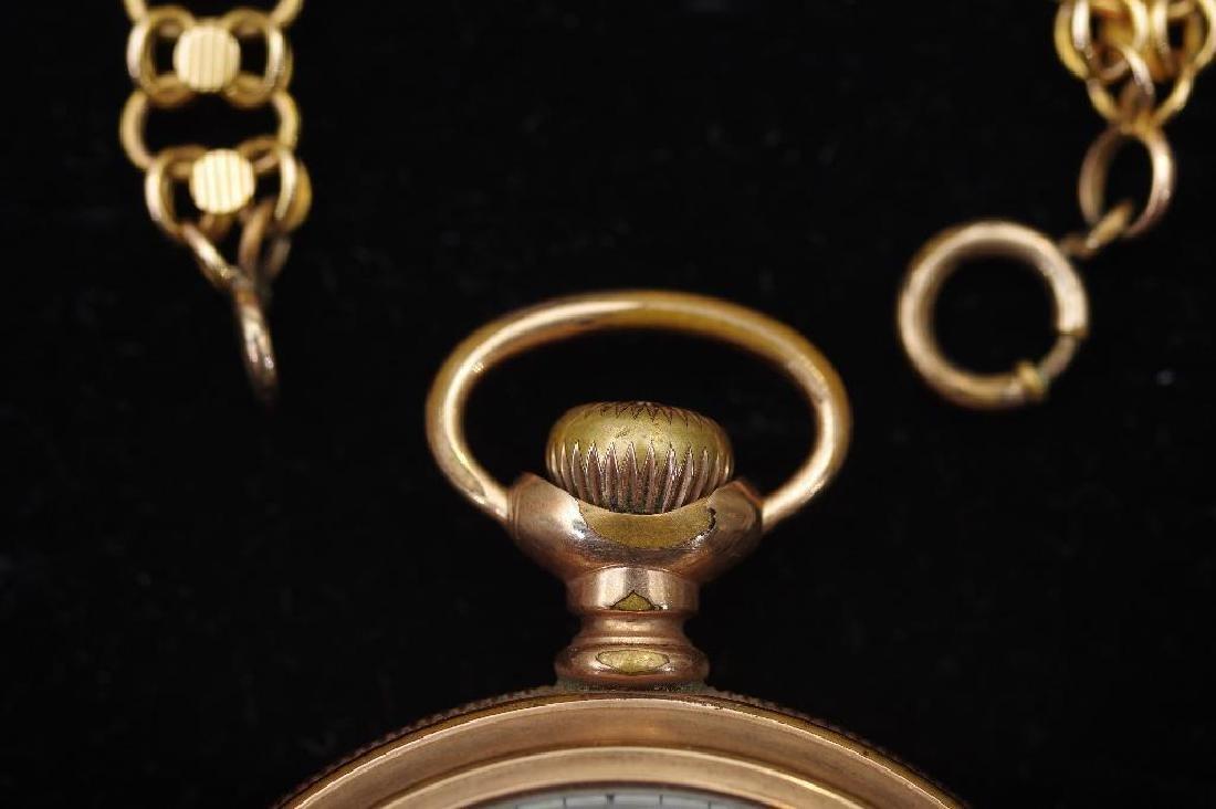 Waltham American Watch Company Gold Filled Pocket Watch - 4