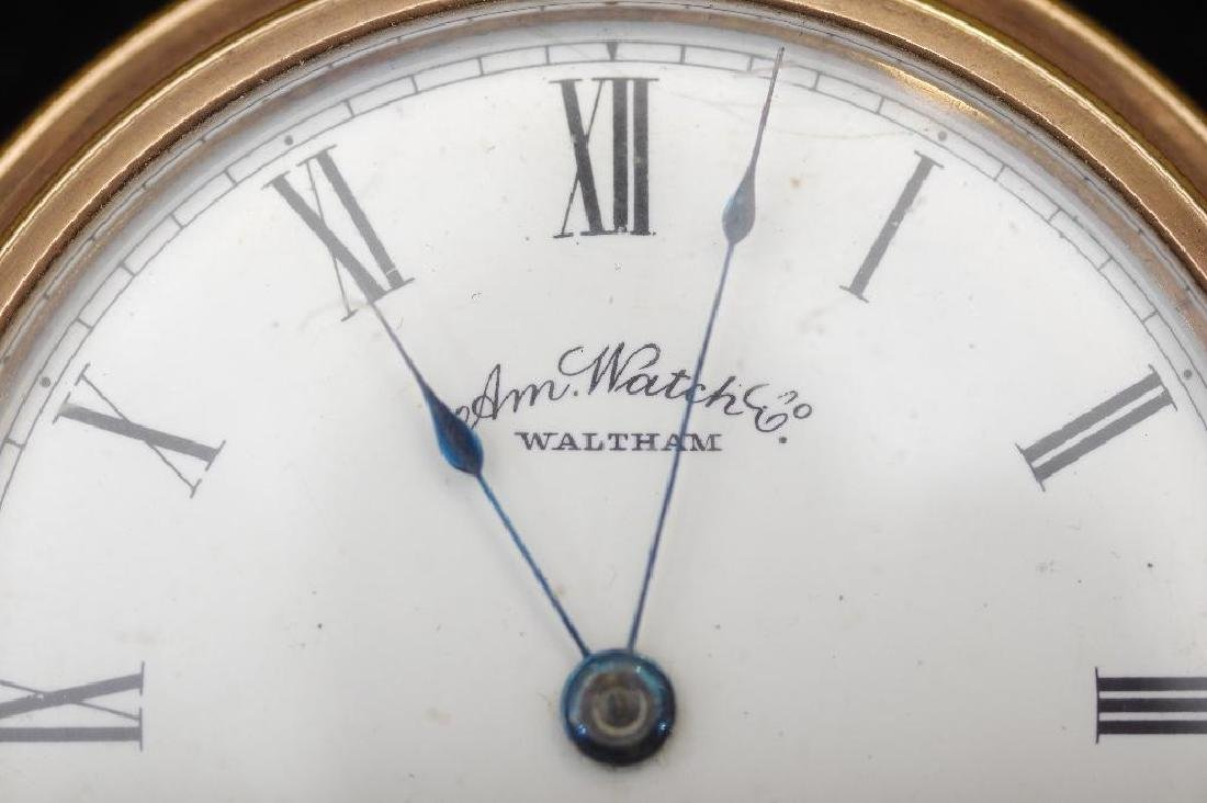 Waltham American Watch Company Gold Filled Pocket Watch - 6