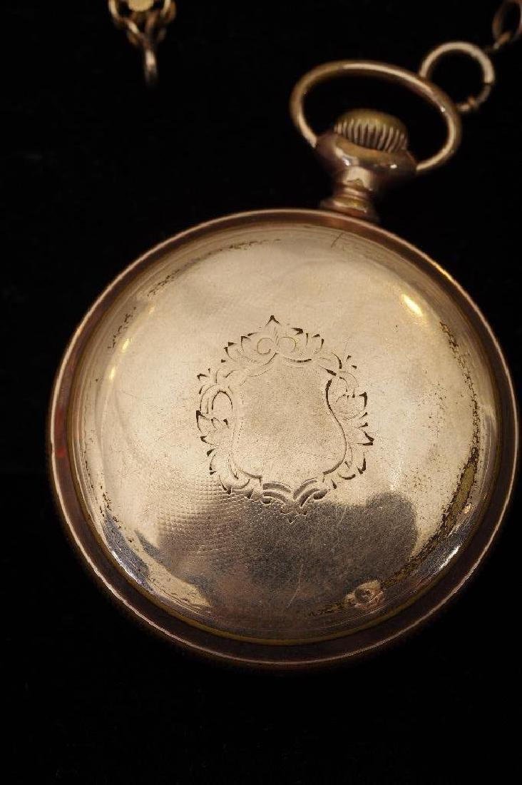 Waltham American Watch Company Gold Filled Pocket Watch - 9