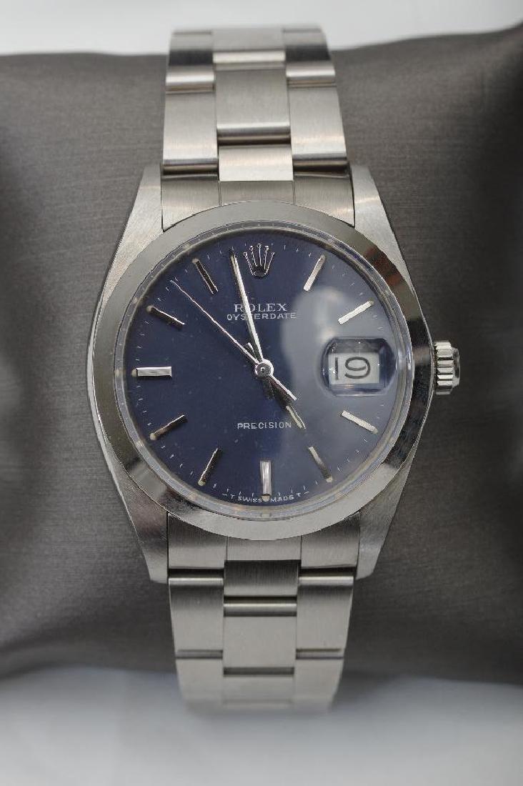 Men's Vintage Rolex Oysterdate Precision Watch