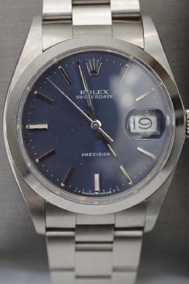 Men's Vintage Rolex Oysterdate Precision Watch - 2