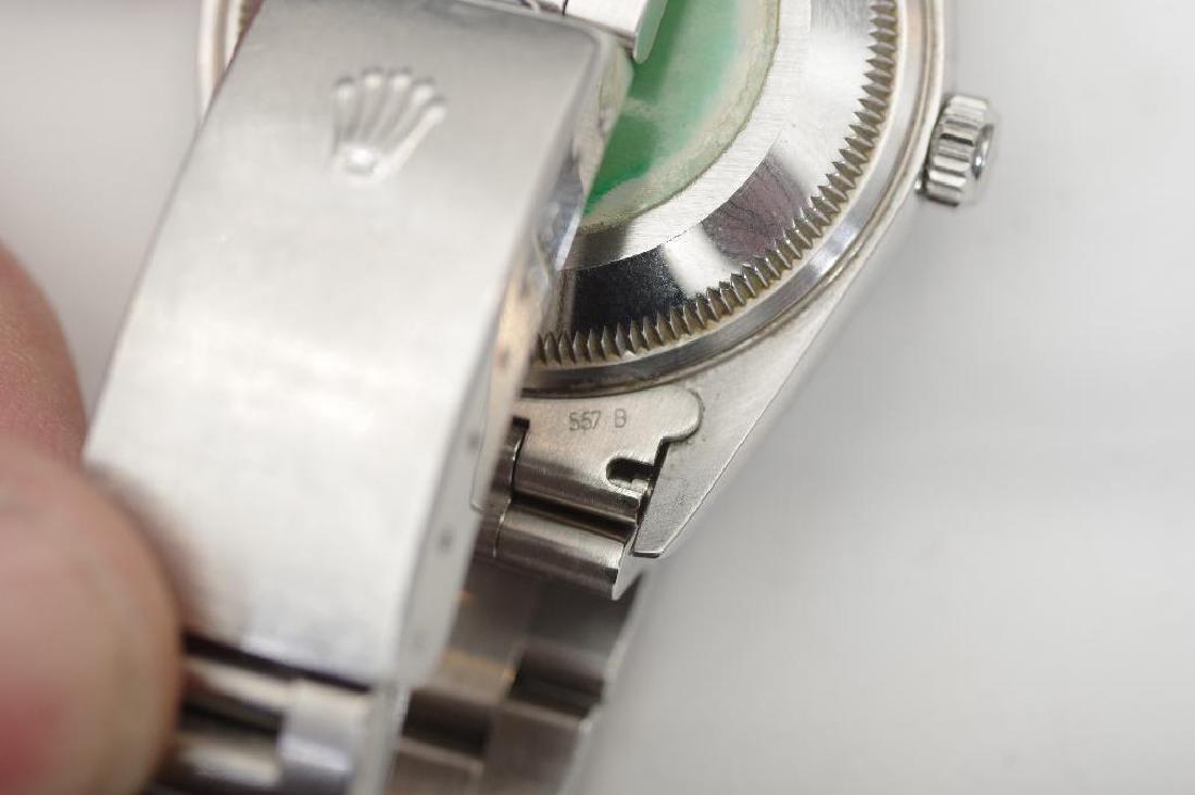 Men's Vintage Rolex Oyster Perpetual Datejust TT Watch - 10