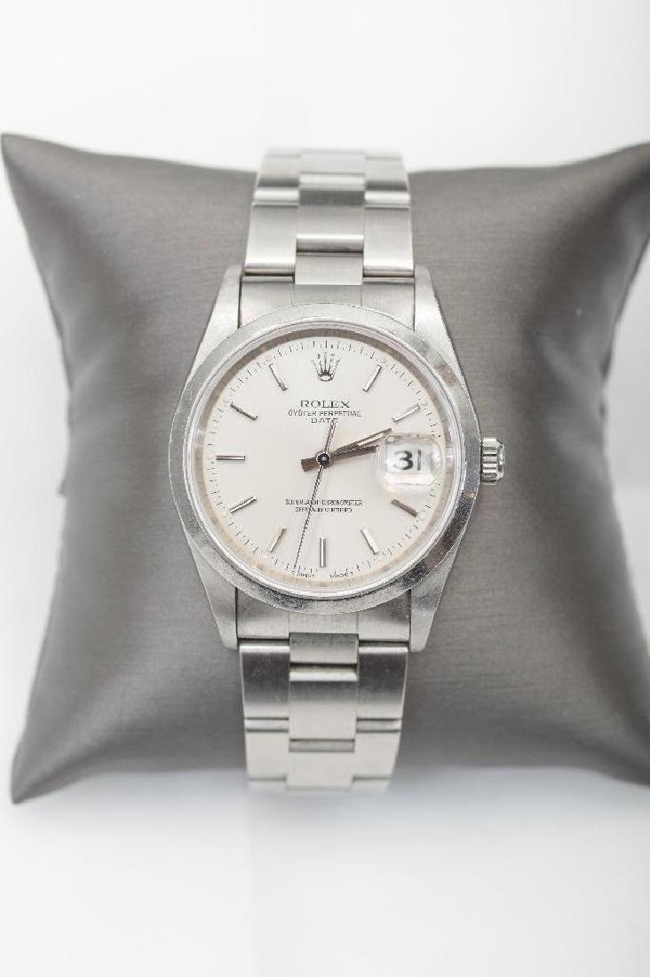 Men's Vintage Rolex Oyster Perpetual Datejust TT Watch