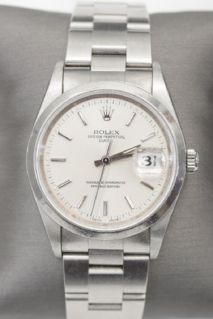 Men's Vintage Rolex Oyster Perpetual Datejust TT Watch - 2