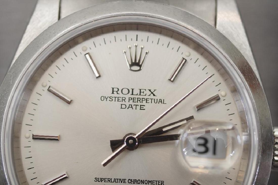 Men's Vintage Rolex Oyster Perpetual Datejust TT Watch - 3