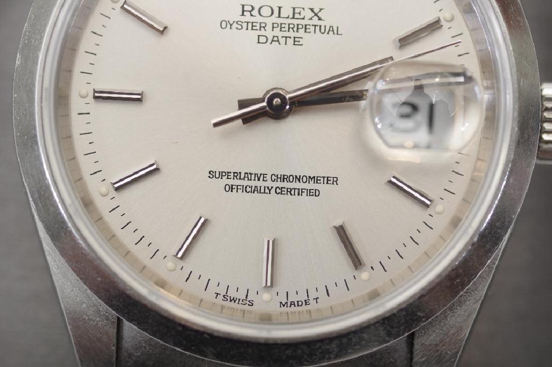 Men's Vintage Rolex Oyster Perpetual Datejust TT Watch - 4