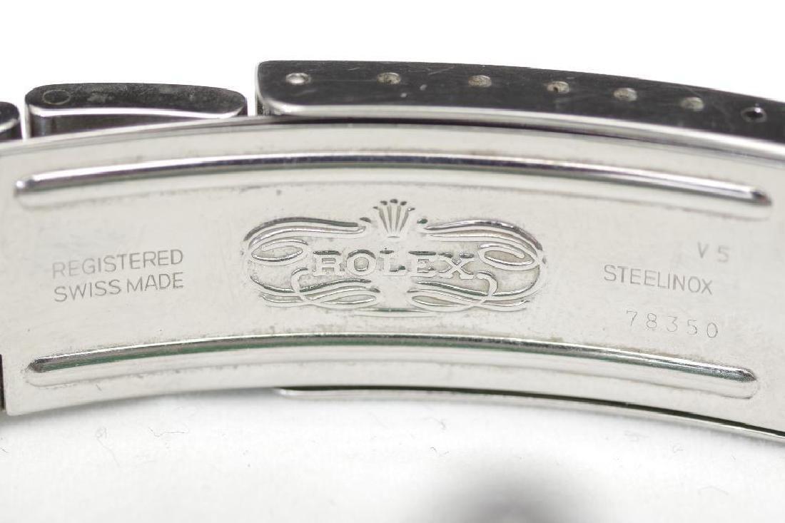 Men's Vintage Rolex Oyster Perpetual Datejust TT Watch - 6