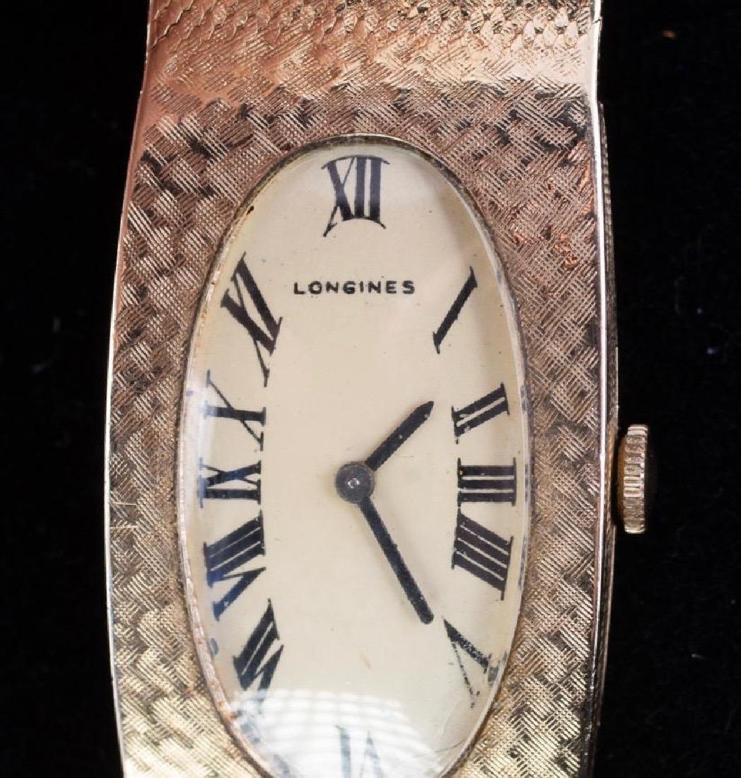 Longines-Wittnauer 14K Yellow Gold Watch - 2