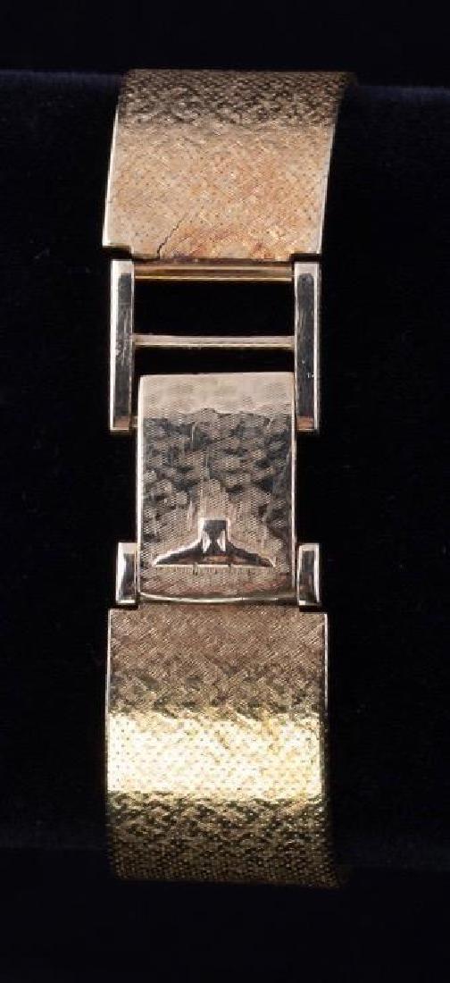 Longines-Wittnauer 14K Yellow Gold Watch - 4