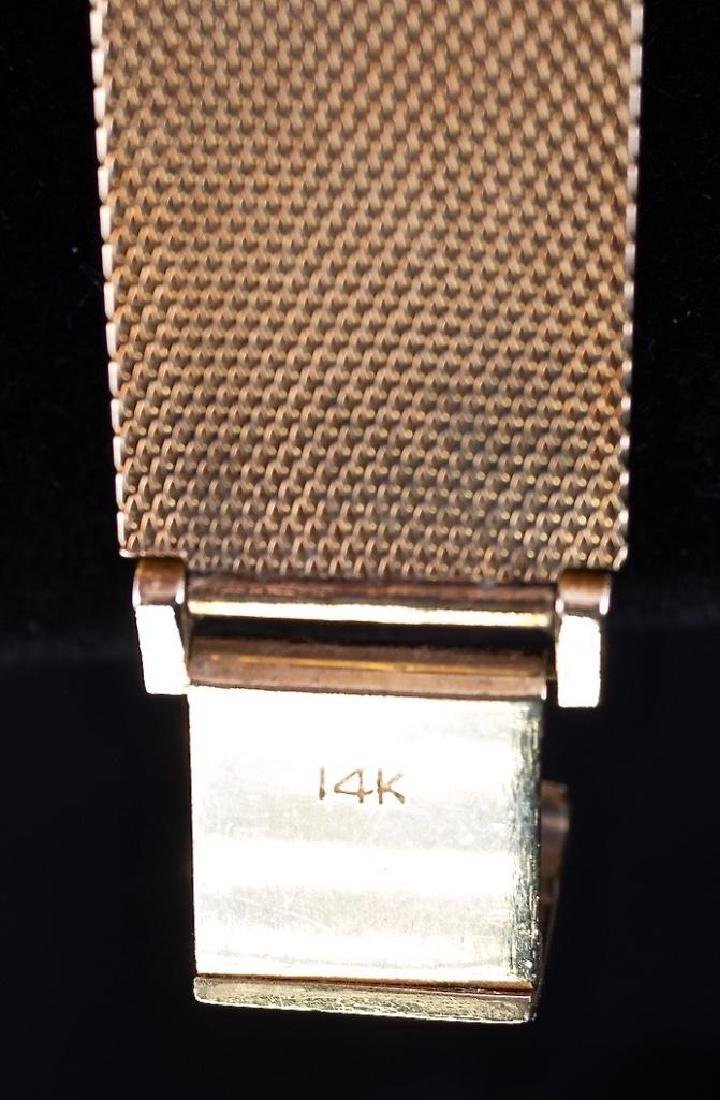 Longines-Wittnauer 14K Yellow Gold Watch - 5