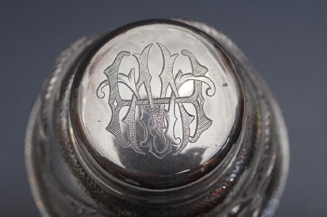 Chinese Silver Dragon Cocktail Shaker - 4