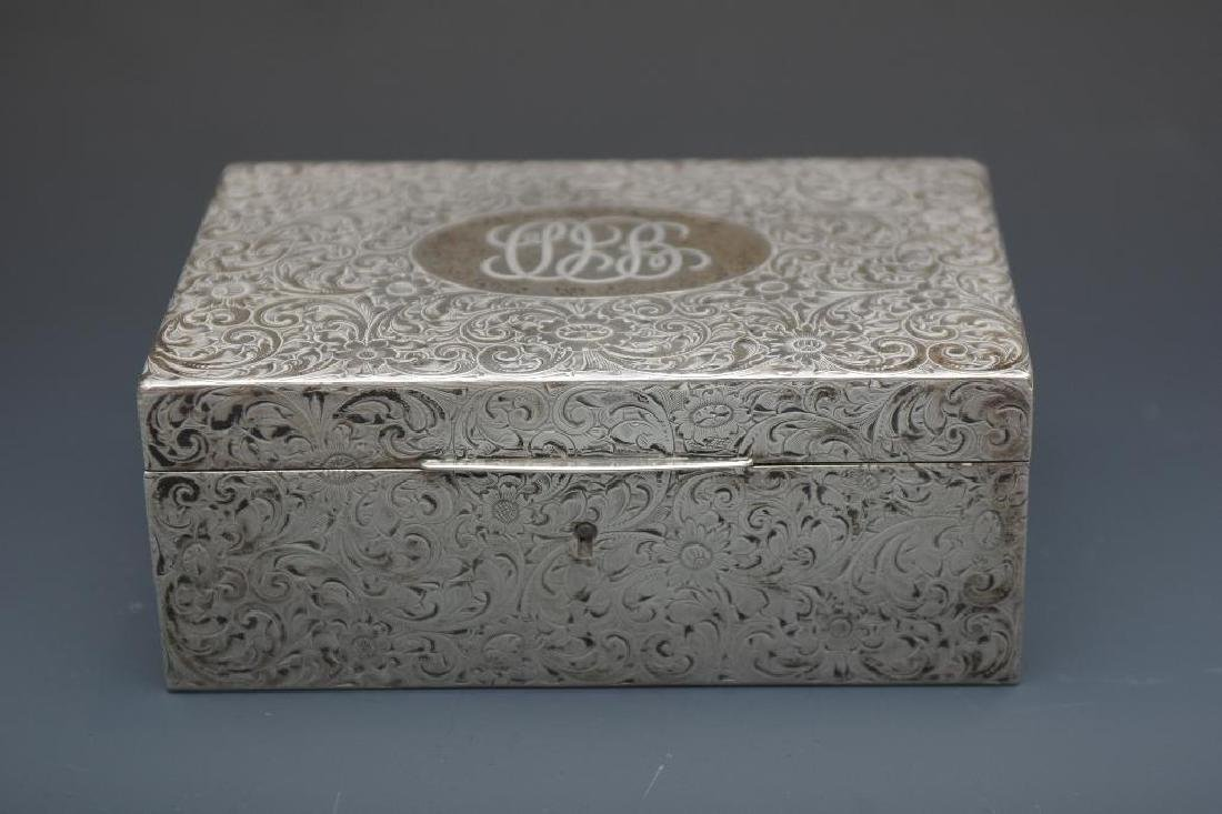 Sterling Silver Box by Shreve, Crump & Lowe Co.