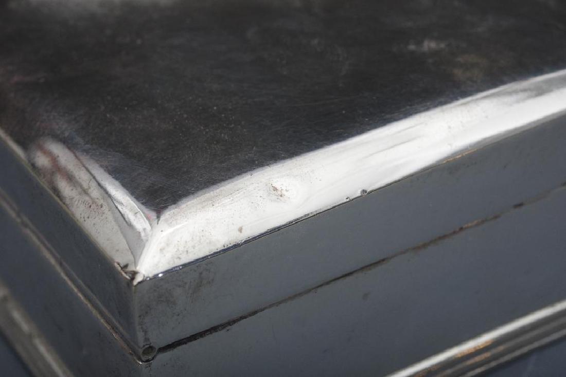 Thai Sterling Silver Box - 10
