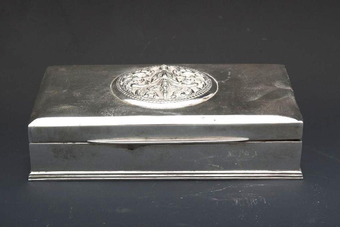 Thai Sterling Silver Box - 2