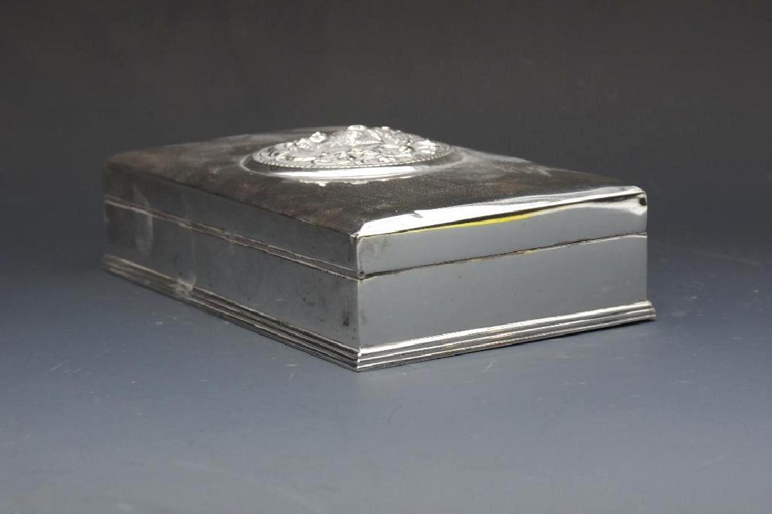 Thai Sterling Silver Box - 4