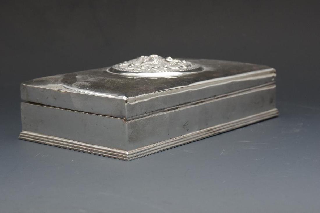 Thai Sterling Silver Box - 5